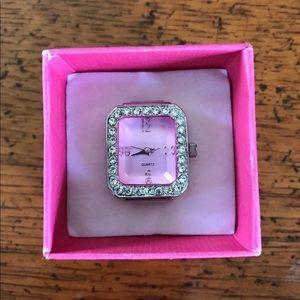 Pink Ring Watch